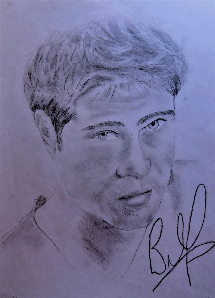 Brad Pitt by Nereaaj